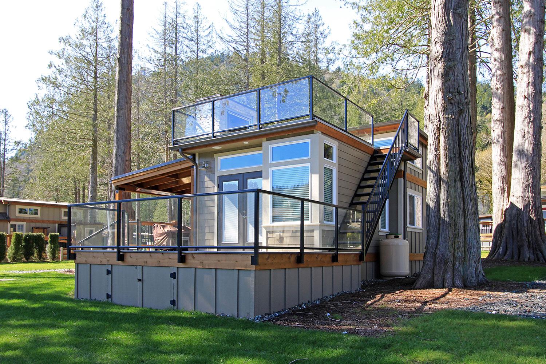 San Juan Tiny Home Park Model Exterior