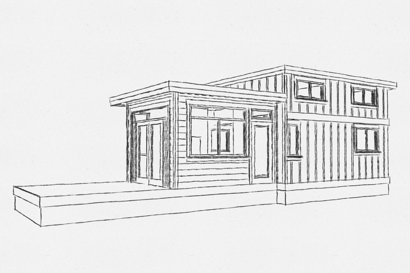 Bellevue tiny home model