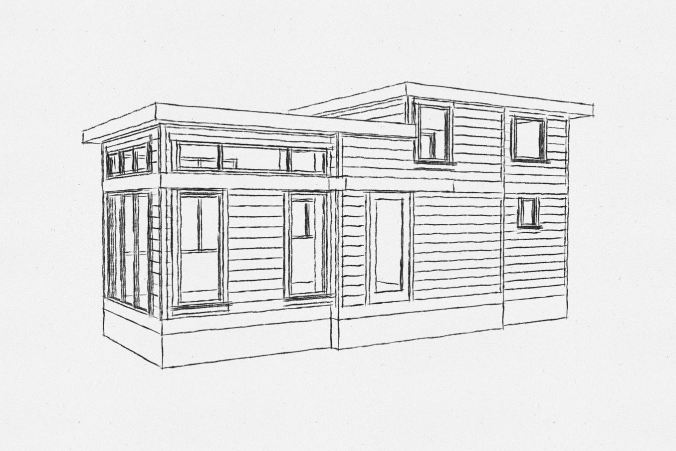 Salish tiny home model